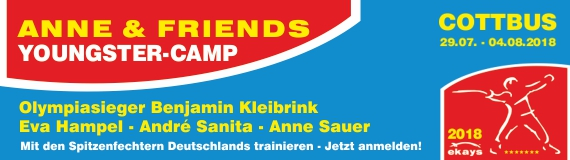 Anne & Friends Youngster-Camp 2018
